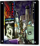 New York City Acrylic Print by Mike McGlothlen