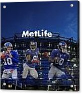 New York Giants Metlife Stadium Acrylic Print by Joe Hamilton