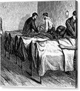 New York: Heatstroke, 1876 Acrylic Print by Granger
