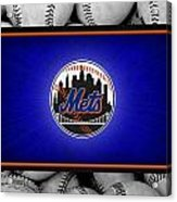 New York Mets Acrylic Print by Joe Hamilton