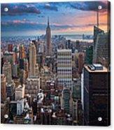 New York New York Acrylic Print by Inge Johnsson