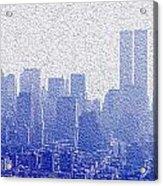 New York Skyline Acrylic Print by Jon Neidert
