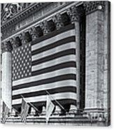 New York Stock Exchange Iv Acrylic Print by Clarence Holmes