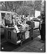 New York Street Photography 5 Acrylic Print by Frank Romeo