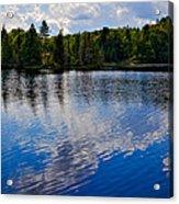 New York's Lake Abanakee Acrylic Print by David Patterson