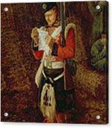 News From Home Acrylic Print by Sir John Everett Millais