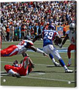 Nfl Pro Bowl Acrylic Print by Mountain Dreams
