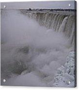 Niagara Falls Acrylic Print by Anastasia Konn