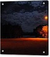 Night Light Acrylic Print by Penelope  Griffin-Rosado