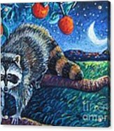 Night Visitor Acrylic Print by Harriet Peck Taylor