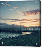 Nights Like These Acrylic Print by Laurie Search