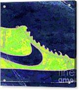 Nike Blazer 3 Acrylic Print by Alfie Borg