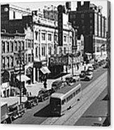 Ninth Street In Brooklyn Acrylic Print by Underwood Archives