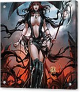 No Tommorow 01a Acrylic Print by Zenescope Entertainment