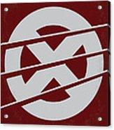 No123 My Xmen Minimal Movie Poster Acrylic Print by Chungkong Art