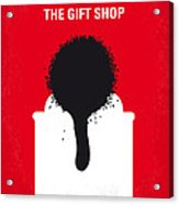No130 My Exit Through The Gift Shop Minimal Movie Poster Acrylic Print by Chungkong Art