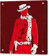 No184 My Django Unchained Minimal Movie Poster Acrylic Print by Chungkong Art