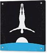 No208 My The Man Who Fell To Earth Minimal Movie Poster Acrylic Print by Chungkong Art