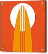 No274 My The Endless Summer Minimal Movie Poster Acrylic Print by Chungkong Art