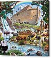 Noahs Ark - The Homecoming Acrylic Print by Steve Crisp