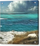 Nonsuch Bay Antigua Acrylic Print by John Edwards