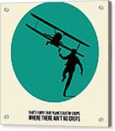North By Northwest Poster 1 Acrylic Print by Naxart Studio