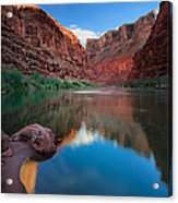 North Canyon Number 1 Acrylic Print by Inge Johnsson