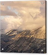 North Valley Panoramic Acrylic Print by Bill Gallagher