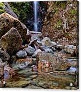 Norvan Falls Acrylic Print by James Wheeler