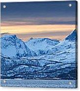 Norwegian Coast Acrylic Print by Wade Aiken