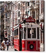 Nostalgic Tram 01 Acrylic Print by Rick Piper Photography