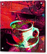 Nothing Like A Hot Cuppa Joe In The Morning To Get The Old Wheels Turning 20130718m43 Acrylic Print by Wingsdomain Art and Photography