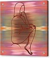 Nude 12 Acrylic Print by Patrick J Murphy