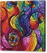 Nurture Acrylic Print by Teal Eye  Print Store