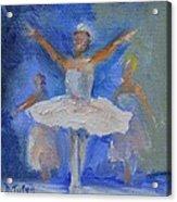 Nutcracker Ballet Acrylic Print by Donna Tuten