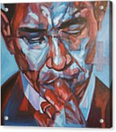 Obama 44 Acrylic Print by Steve Hunter