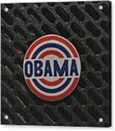 Obama Acrylic Print by Rob Hans