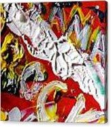 Obama Rocks Acrylic Print by Leslie Byrne