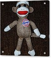 Obama Sock Monkey Acrylic Print by Rob Hans