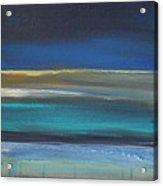 Ocean Blue 2 Acrylic Print by Linda Woods
