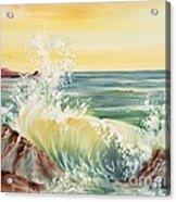Ocean Waves II Acrylic Print by Summer Celeste
