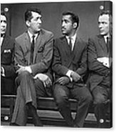 Ocean's Eleven Rat Pack Acrylic Print by Underwood Archives