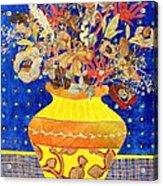 Ode To A Grecian Urn Acrylic Print by Diane Fine