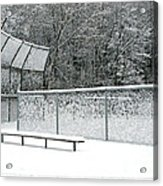 Off Season Acrylic Print by Ann Horn