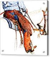 Olathes Acrylic Print by Karen Slagle