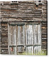 Old Barn In Maine Acrylic Print by Keith Webber Jr