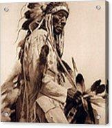 Old Cheyenne Acrylic Print by Studio Photo