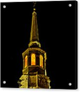 Old Christ Church Acrylic Print by Louis Dallara