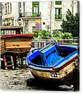 Old Havana Acrylic Print by Karen Wiles