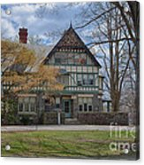 Old House On Haverford Campus Acrylic Print by Kay Pickens